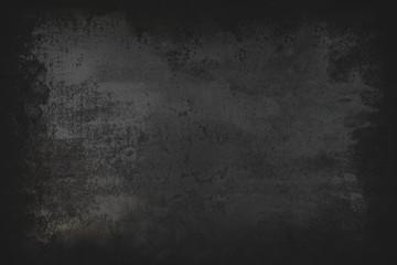 Black grunge background.  Blackboard. Chalkboard. Dark Dust and  Distress Background with scratches..