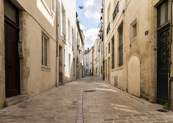 Curved Lane in Orleans France