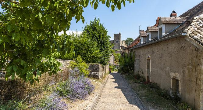 Street in Brancion