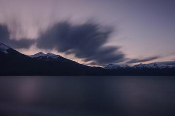 Futalaufquen Lake at Los Alerces National Park, Patagonia, Argentina