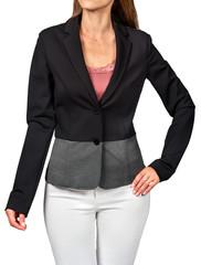 Model in jacket