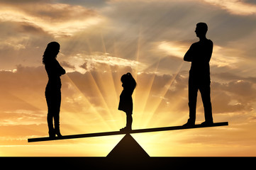 Concept of divorce and division of children