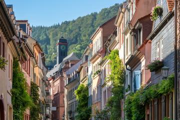 Fotomurales - Große Mantelgasse in Heidelberg, Deutschland