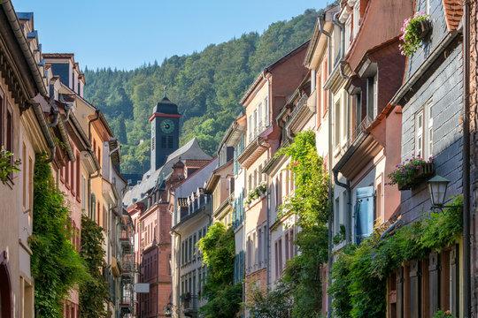 Große Mantelgasse in Heidelberg, Deutschland