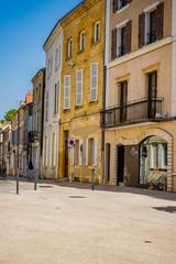 Dans les rues de Paray-le-Monial en Saône et Loire
