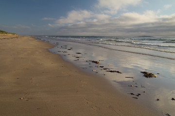 Beach at Bamburgh, Northumberland UK