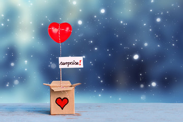 Geschenk aus Liebe