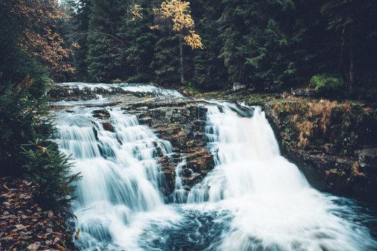 Giant Mountains waterfall