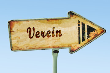 Schild 328 - Verein