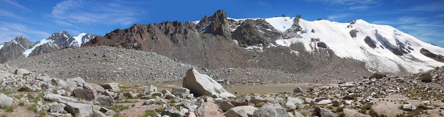 Glacier T 1, Tien Shan mountains, Kazakhstan