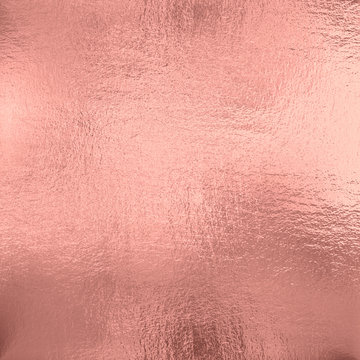 Rose Gold foil texture background