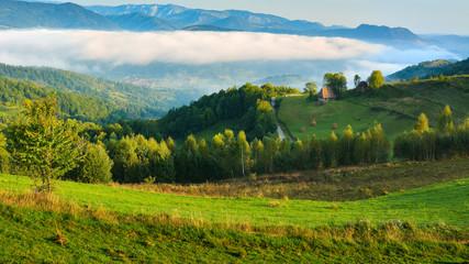 Landscape from Transylvania - Dumesti, Salciua - Romania