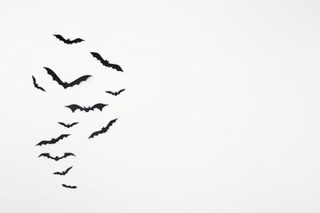 Bat paper decoration halloween Fototapete
