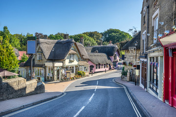 Shanklin on the Isle of Wight in England Fototapete