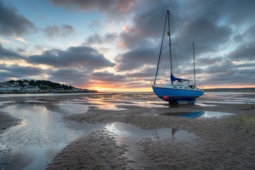 Wall Mural - Low Tide at Instow in Devon