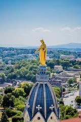 Vierge doré de Notre-Dame de Fourvière à Lyon