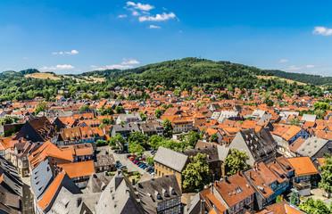 Goslar - Panorama der Altstadt