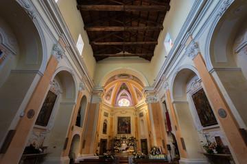 Francolise CE, Santa Maria a Castello