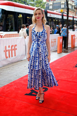 Actor Carey Mulligan arrives for the Canadian premiere of Wildlife at the Toronto International Film Festival (TIFF) in Toronto