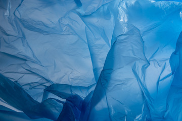 Plastic bag texture an abstract background - texture