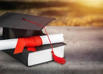 Graduation medical concept.