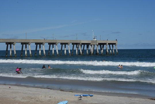 A look at Jonnie Mercer's Pier at Wrightsville Beach in North Carolina