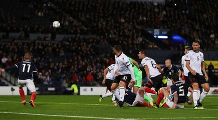 UEFA Nations League - League C - Group 1 - Scotland v Albania