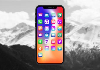 App-Symbol-Kit mit Farbverläufen