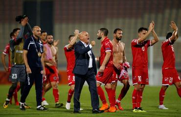 UEFA Nations League - League D - Group 3 - Malta v Azerbaijan