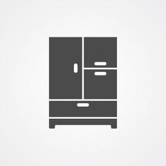 Wardrobe vector icon sign symbol