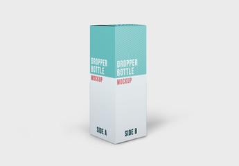 Dropper Bottle Package Mockup