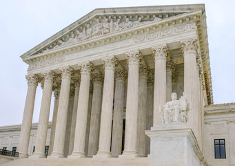US Supreme Court building in Washington DC