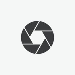 Camera Shutter Vector Icon
