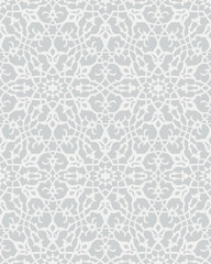 Oriental ornament in dark-black colors. Beautiful patterns in vector design. Seamless, matching edges.