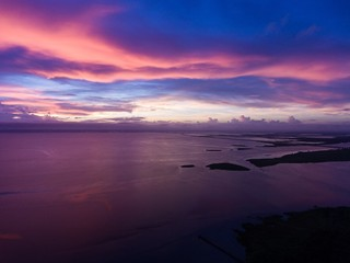 Sunset over Mobile Bay, Alabama