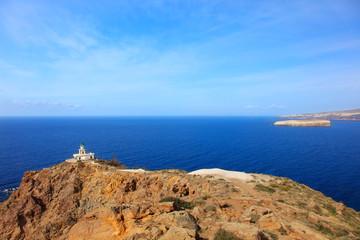 サントリーニ島-アクロティリ灯台の景色-