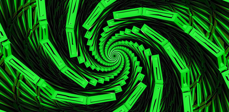 swirl abstract colorful background green dmt trippy concept