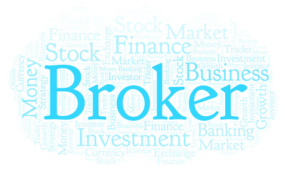 Broker word cloud.
