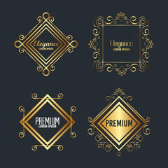 premium and elegance set frames