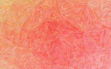 Orange, red and green Impressionist Impasto background illustration.
