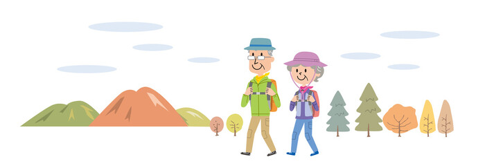 高齢者 ハイキング 登山