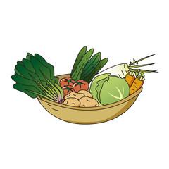 野菜山盛り