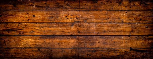 Obraz Rustikale Holztextur mit Vignette - fototapety do salonu
