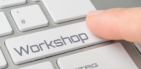 Tastatur mit beschrifteter Taste - Workshop