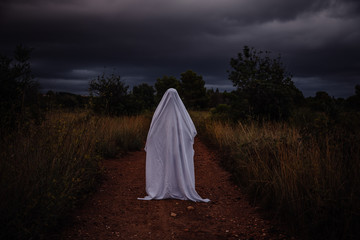 Ghost on the road