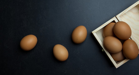 Huevos ecológicos para cocina mediterránea