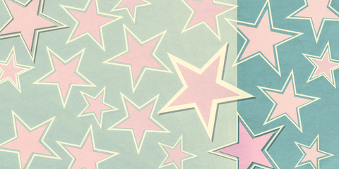 abstract geometric star shapes background