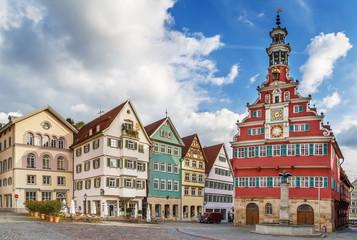 square in Esslingen am Neckar, Germany