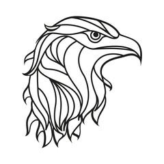 Eagle Head Laser Cut