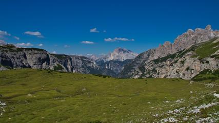 Plateau in den Bergen